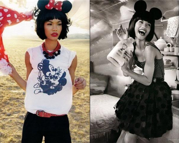 MINNIE MOUSE in VOGUE GERMANY