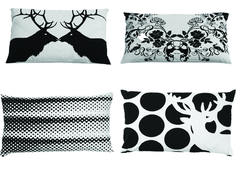 Black&White pillows by KG Design