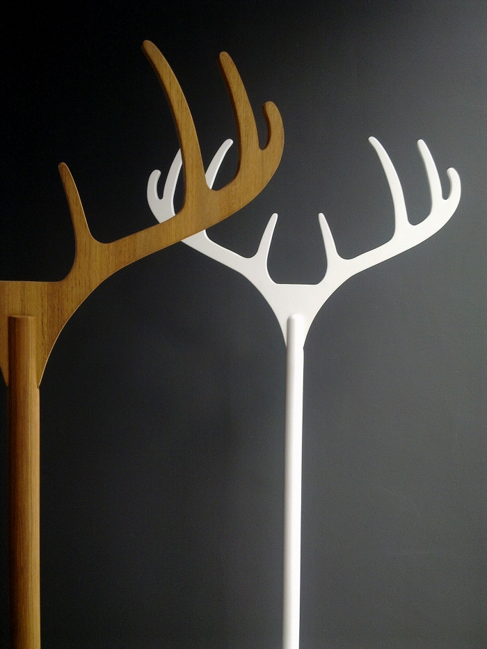 Christmas Mood - Antler coatrack by Rush PLEANSUK