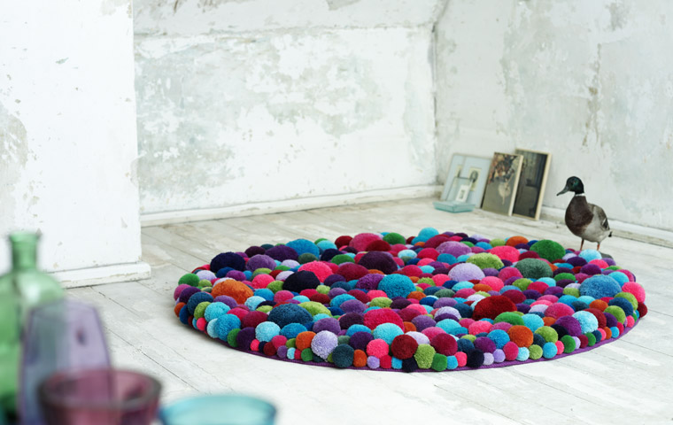Handcrafted Pompon Cosy Furniture